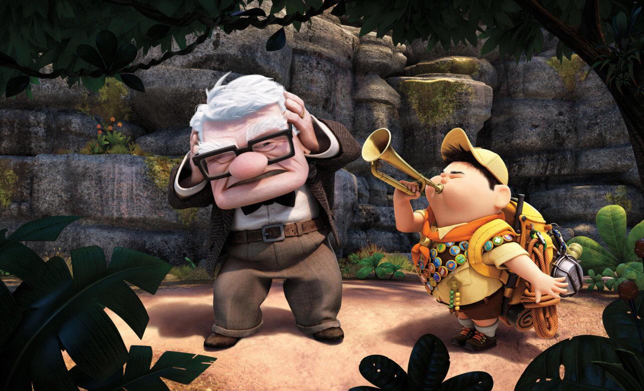 Up Altas Aventuras Filme Com Casal De Velhinhos Mais Fofo Da Pixar