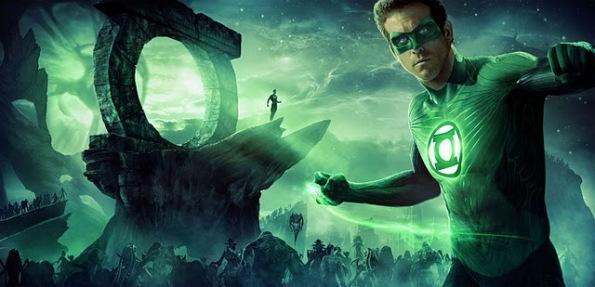 Lanterna Verde em ação