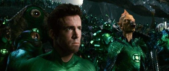 Lanterna Verde preocupado