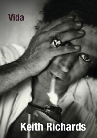 Capa do livro Vida, Keith Richards