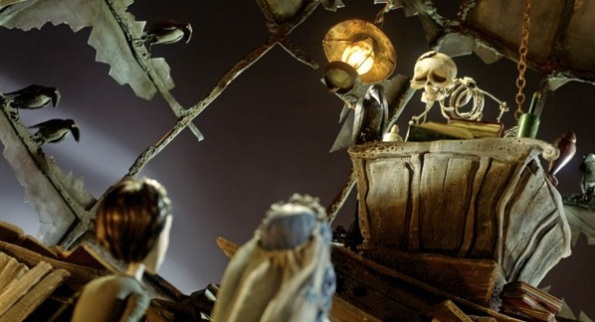Cena de A Noiva Cadáver