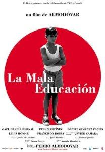 """Cartaz do filme """"Má Educação"""""""