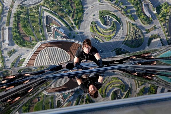 Cena no alto do Burj Khalifa, em Dubai