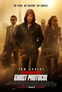 Cartaz do filme Missão Impossível 4
