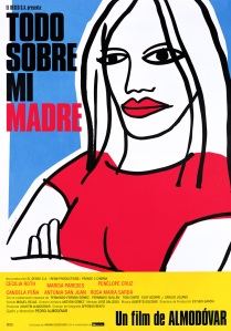 """Cartaz do filme """"Tudo sobre minha mãe"""""""