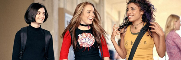 Lindsay Lohan colegial com as amigas