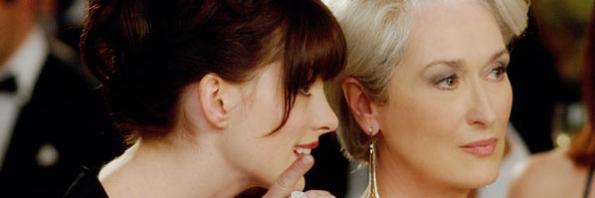 Anne Hathaway, Meryl Streep, O Diabo Veste Prada