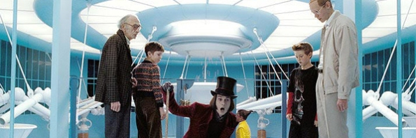 Johnny Depp, Willy Wonka, A Fantástica Fábrica de Chocolates