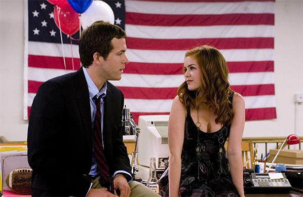 Cena de Três Vezes Amor, Ryan Reynolds, Isla Fisher