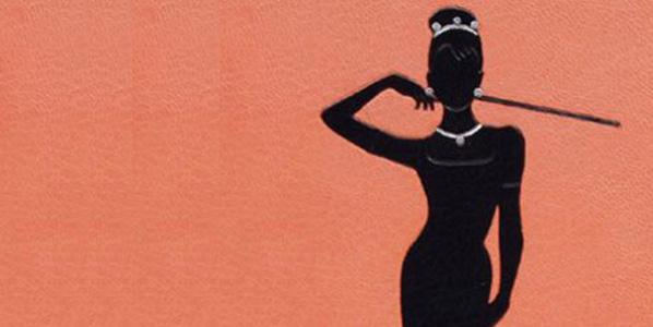 ilustração bonequinha de luxo, capa 1958 bonequinha de luxo