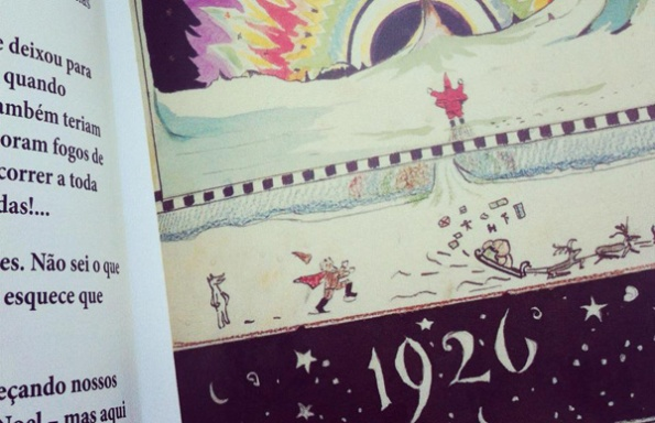 desenho, tolkien, cartas do papai noel
